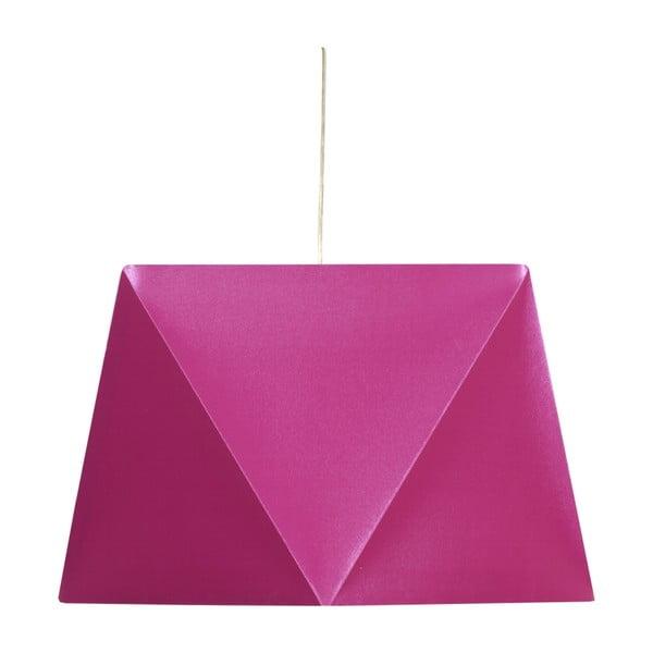 Závěsné světlo Hexagen, růžové