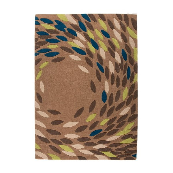 Koberec Flair Rugs Swirl Teal/Green, 160 x 230 cm