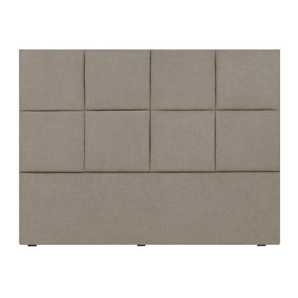 Kremowy zagłówek łóżka Mazzini Sofas Barletta, 200x120 cm