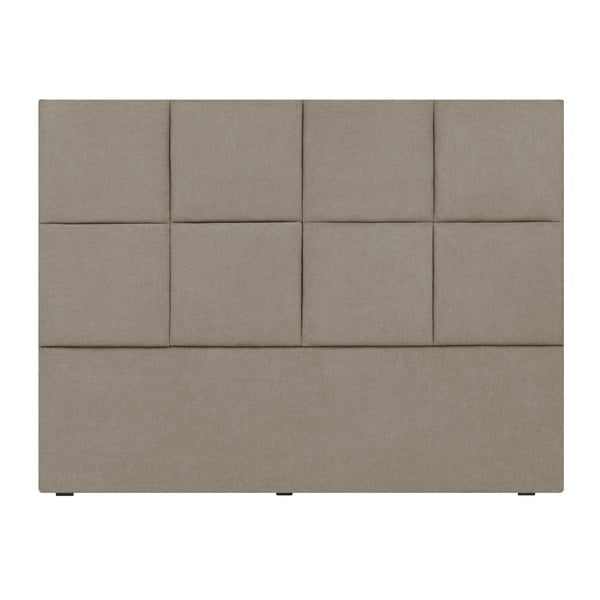 Tăblie de pat Mazzini Sofas Barletta, 200 x 120 cm, crem