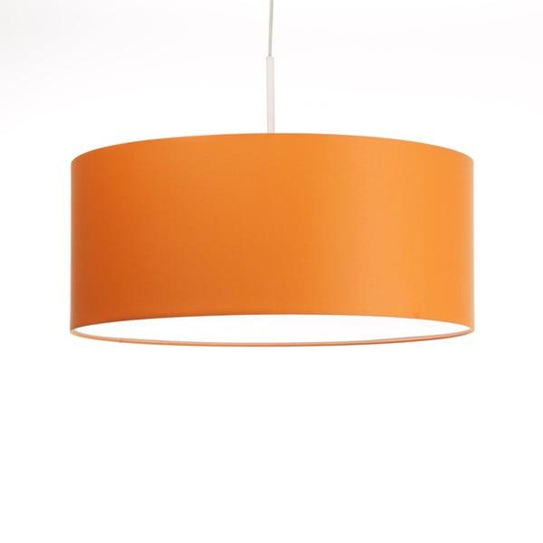 Oranžové stropní světlo Artist, variabilní délka, Ø 60 cm