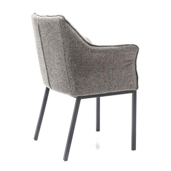 Šedá jídelní židle Kare Design Thinktank