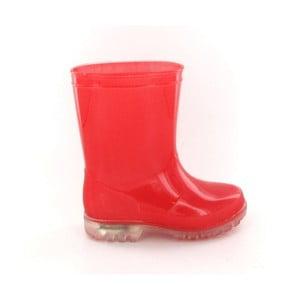 Cizme pentru copii Ambiance Kid Rain Boots, măr. 28, roșu