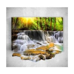 Nástěnný 3D obraz Mosticx Waterfall, 40 x 60 cm