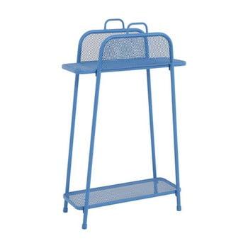 Etajeră de balcon metalică ADDU MWH, înălțime 105,5 cm, albastru