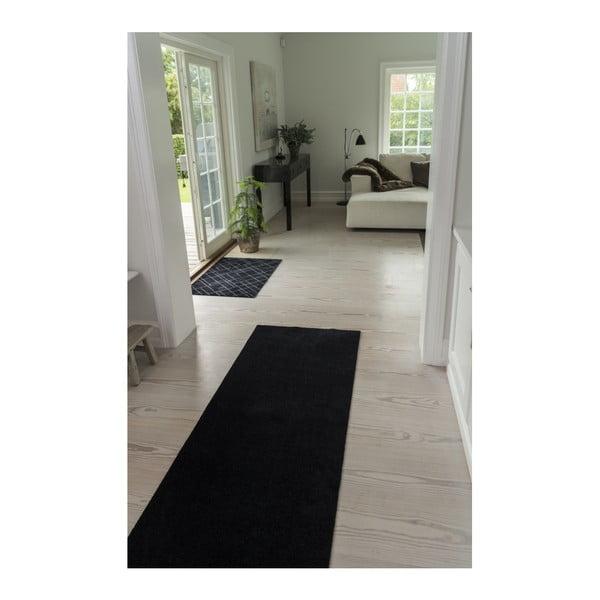 Černošedá rohožka tica copenhagen Lines, 60x90cm