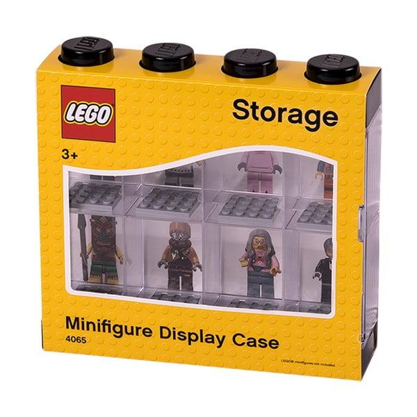 Cutie pentru 8 minifigurine LEGO®, alb - negru