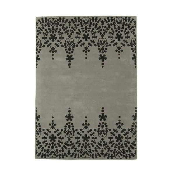 Vlněný koberec Guild Grey 120x170 cm