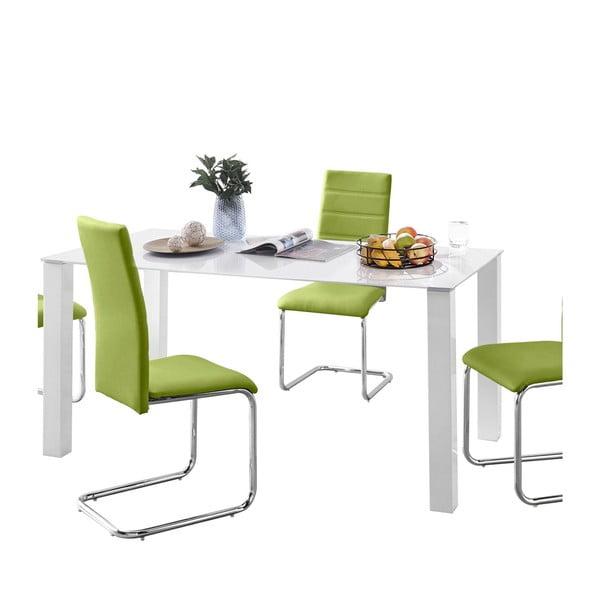 Sada stolu a 4 zelených židlí Støraa Naral