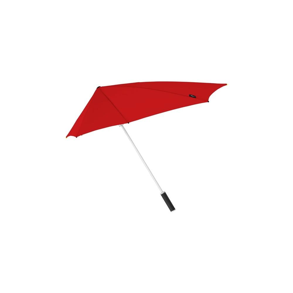 Červený golfový deštník odolný vůči větru Ambiance Susino, ⌀95cm