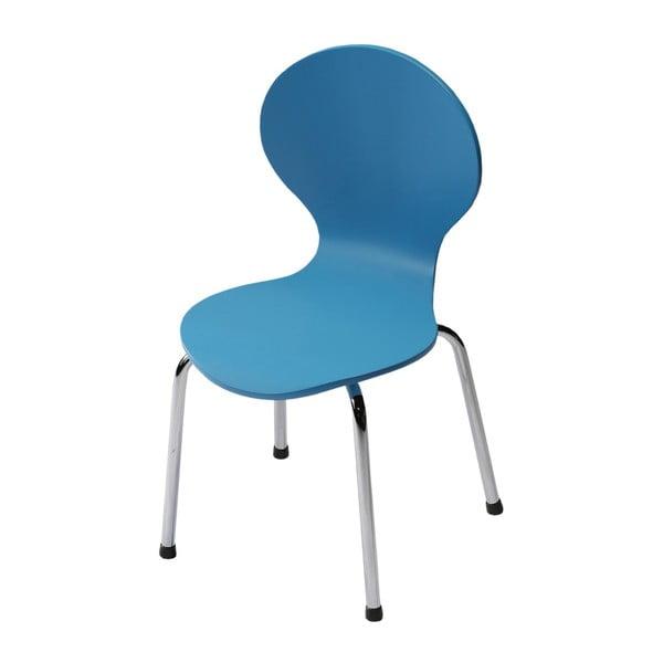 Dětská modrá židle DAN-FORM Denmark Child