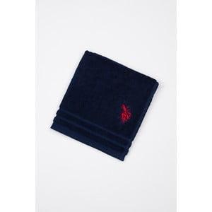Koupelnová předložka U.S. Polo Assn. Blue Dark, 60x90 cm
