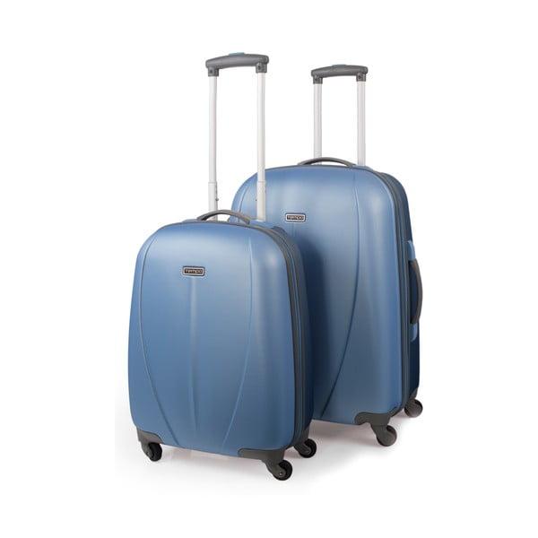 Sada 2 kufrů Tempo, světle modrá