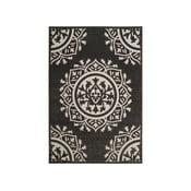 Covor Safavieh Delancy, adecvat și pentru exterior, 160 x 231 cm, negru-crem
