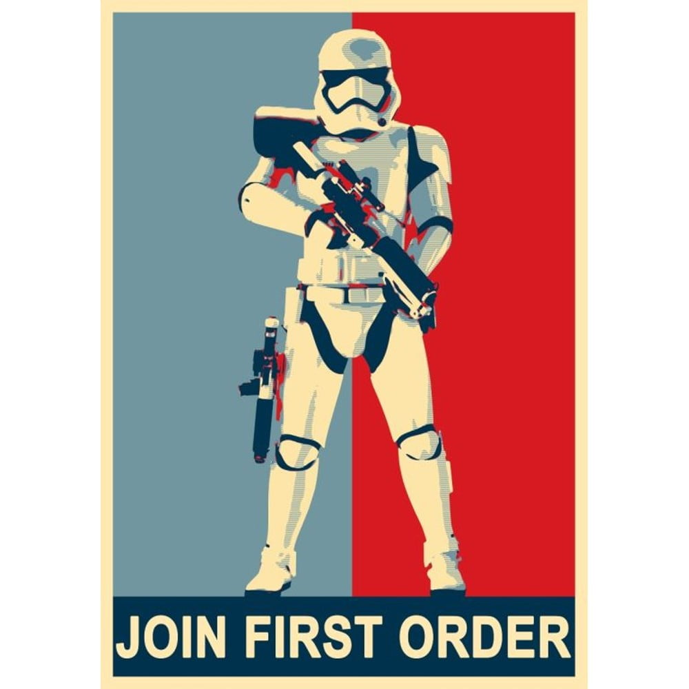 Plakát Blue-Shaker Star Wars 99, 30 x 40 cm