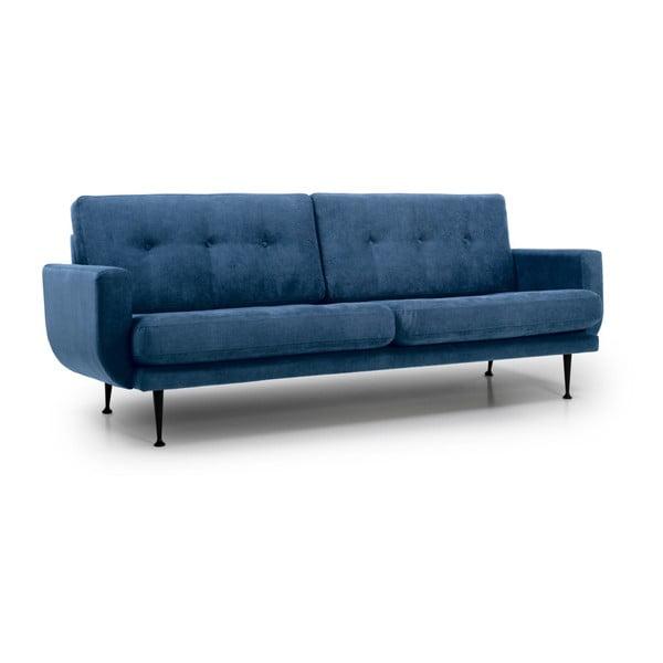 Canapea cu 3 locuri Softnord Fly, albastru