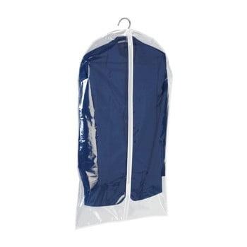 Husă transparentă haine Wenko Transparent, 100 x 60 cm imagine