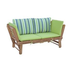 Canapea de grădină extensibilă din lemn de salcâm SOB Garden
