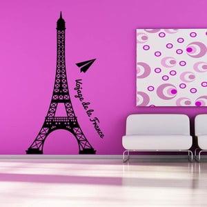 Samolepka na stěnu De La France