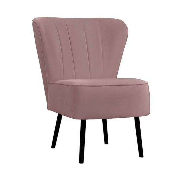 Berlin MV rózsaszín fotel - JohnsonStyle