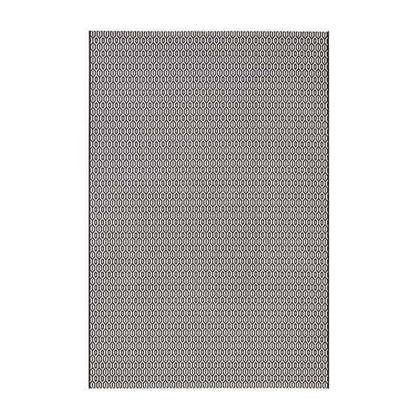 Meadow fekete-fehér kültéri szőnyeg, 140 x 200 cm - Bougari