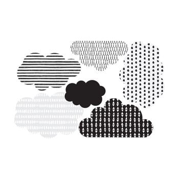 Autocolant pentru perete Dekornik Scandi clouds de la Dekornik
