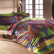 Lenjerie de pat cu cearșaf Orient, 200x220cm