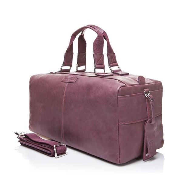 Pánská kožená taška Ferruccio Laconi 102 Bordeaux