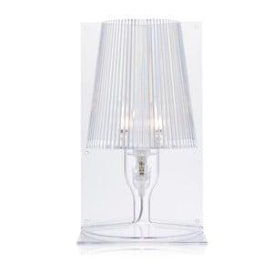 Transparentní stolní lampa Kartell Take