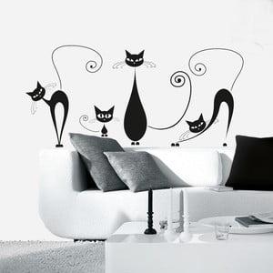 Dekorativní samolepka Eurographics Kočičky