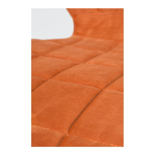 Set 2 scaune Zuiver OMG Velvet, portocaliu