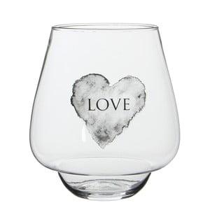 Stojan na svíčku/váza Nolan Love, 22 cm