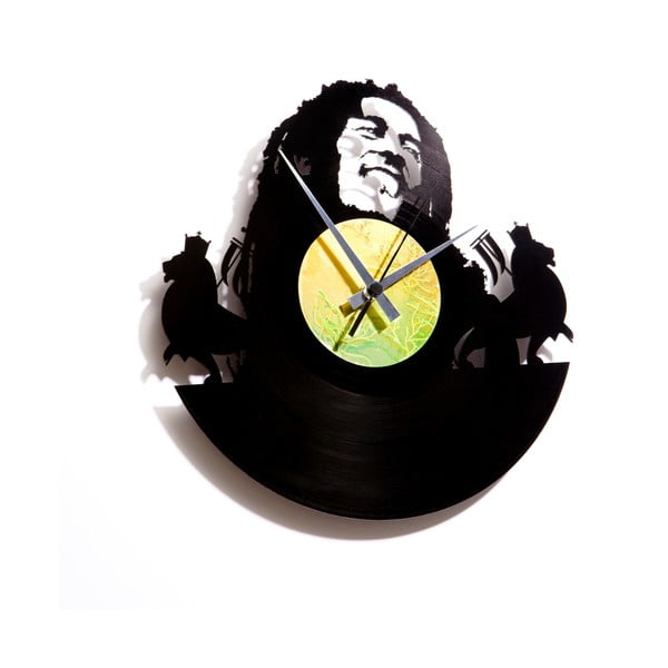 Vinylové hodiny Bob Marley