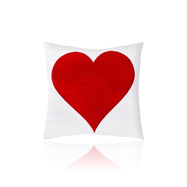 Povlak na polštář Heart, 50x50 cm