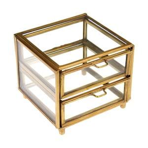 Zlatý dvoupatrový box Rex London Forint