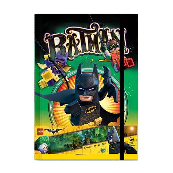 Linkovaný zápisník LEGO® Batman, 120 stran