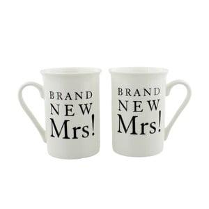 Sada 2 hrnečků Amore Brand New Mrs. and Mrs., 280ml