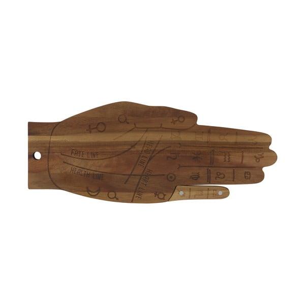 Tocător din lemn DOIY Tarot, 42,5 x 17,2 cm