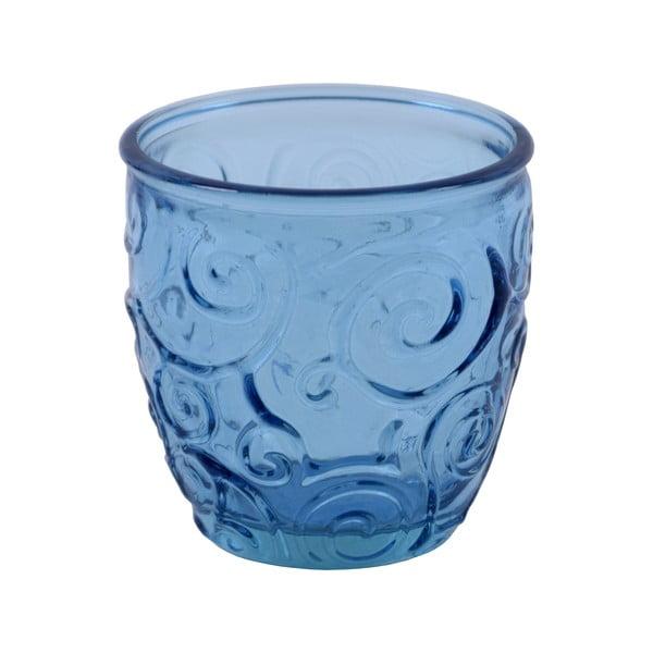Modrá sklenice z recyklovaného skla Ego Dekor Triana, 250ml