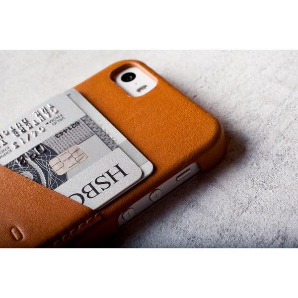 Peněženkový obal Mujjo na telefon iPhone 5 Tan