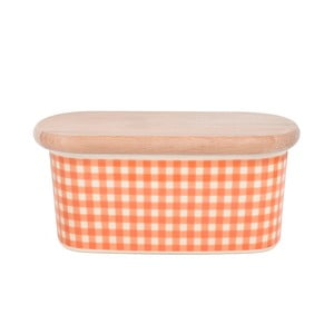 Dóza na máslo od Nigelly Lawson Gingham Orange