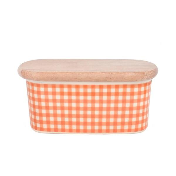 Dóza na máslo od Nigelly Lawson Gingham Orange