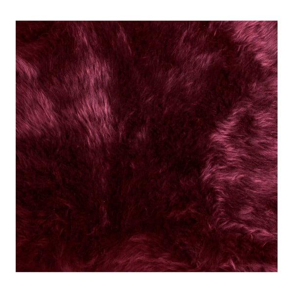 Červená ovčí kožešina Dutchbone Shaun