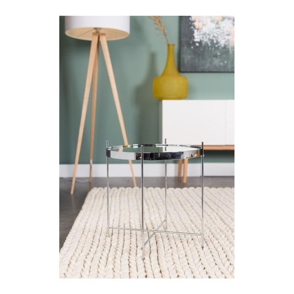 Stříbrný odkládací stolek Zuiver Cupid