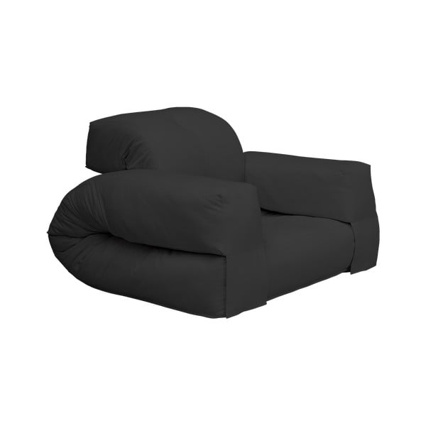 Hippo Dark Grey kinyitható fotel - Karup Design