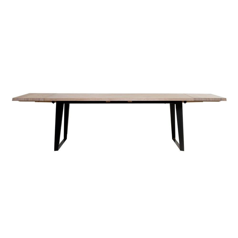Přídavná deska k jídelnímu stolu ze dřeva bílého dubu Unique Furniture Novara