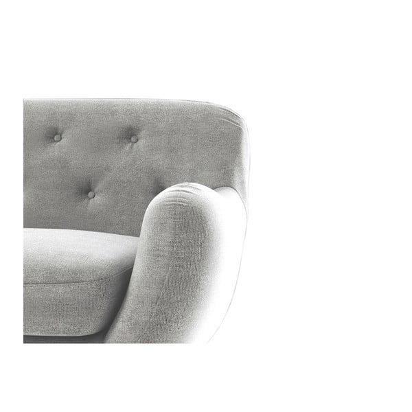 Sofa Zefir pro tři, šedé