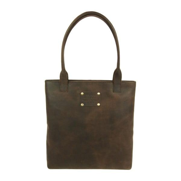 Hnedá kožená kabelka O My Bag Posh Stacey midi
