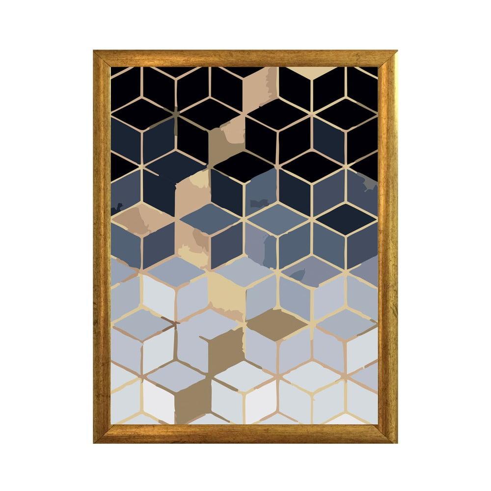 Nástěnný obraz v rámu Piacenza Art Shapes, 23 x 33 cm