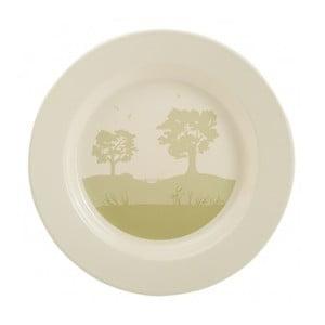 Smaltovaný talíř Country, 26 cm
